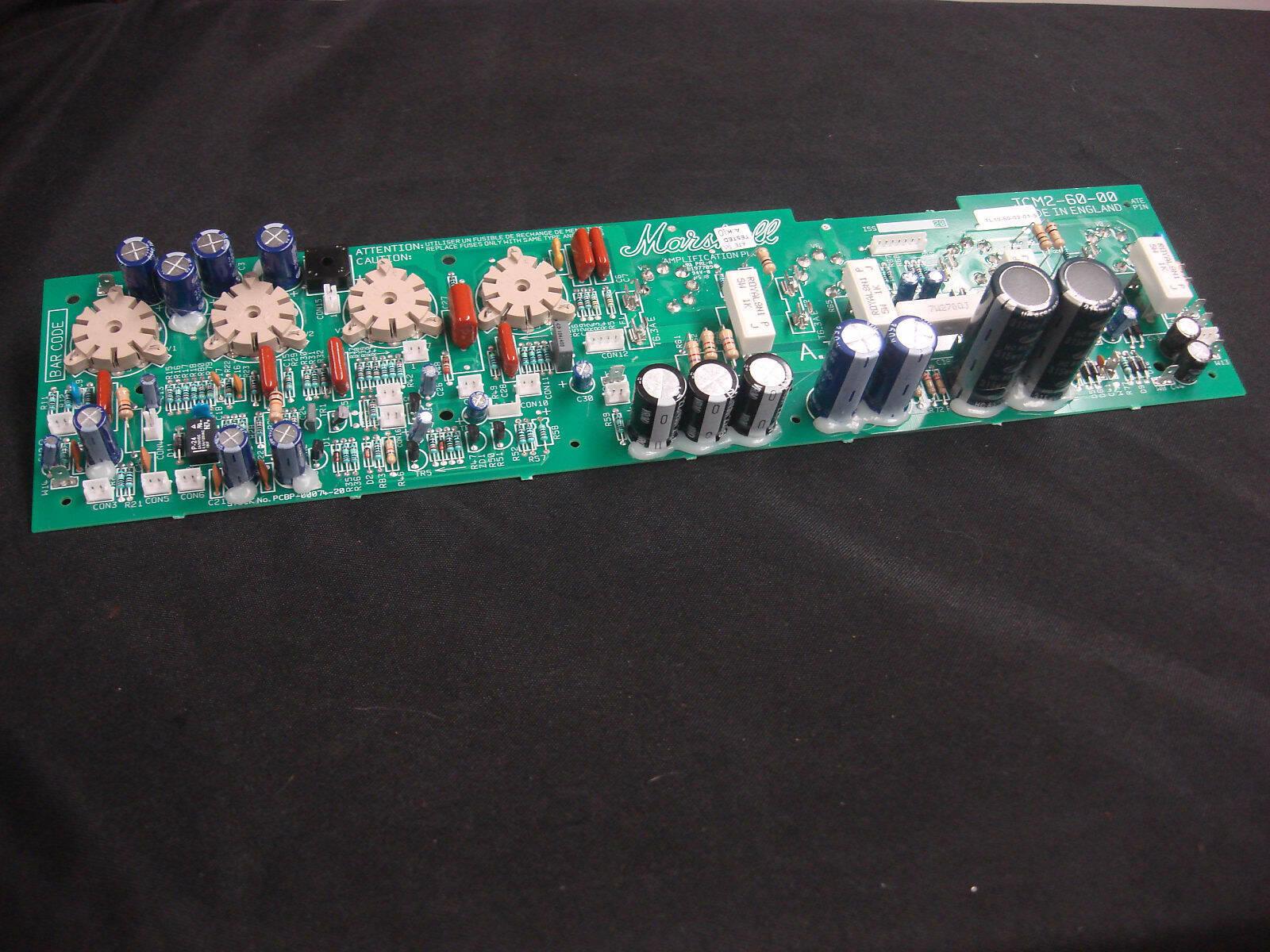 Marshall JCM 2000 TSL 100 / 122 Amp PCB JCM2-60-00 Main Valve Circuit Board TL10 - $249.99