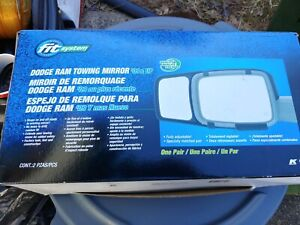 Tow mirrors Dodge Ram 2009 and up