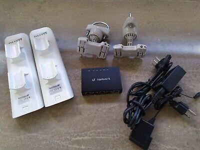 Ubiquiti bundle: Edgerouter X, Nanostation M5 + M2, RF Elements mounts, usado comprar usado  Enviando para Brazil