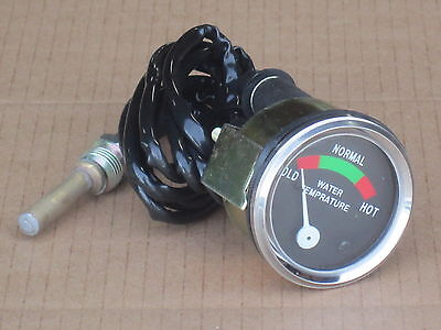 Temperature Gauge For Ih International Temp Farmall 340 350 400 450 C Super