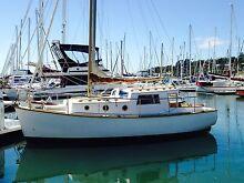 26ft Huon Pine Yacht/Motorsailer Hobart CBD Hobart City Preview