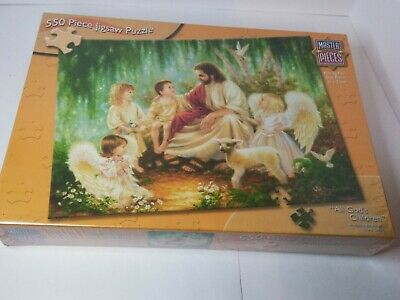Master Pieces 550 Pc. Puzzle New (All God's Children) the art of DONNA GELSINGER