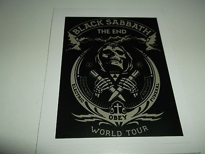 BLACK SABBATH OBEY STICKER