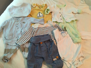 Lot of preemie, newborn baby clothes
