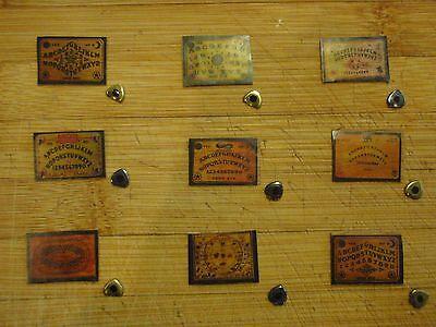 *Miniature Ouija Board & planchette W/ FREE GIFT!-Witch/Spirit/dollhouse/1/12