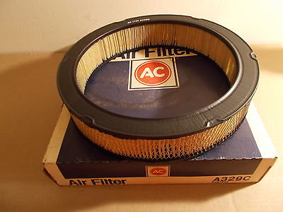 1971 Chevy Nova Camaro Corvette 350 New AC GM Air Filter Element A329C 6483645