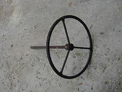 Cockshutt 30 rowcrop Tractor Original steering wheel & short steering shaft