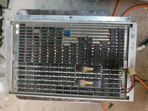 Large wire wrap board with two TRW TDC1009 12x12 bit multipliers