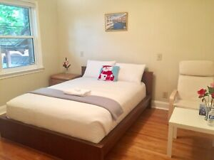 Furnished, Private room with free parking for rent