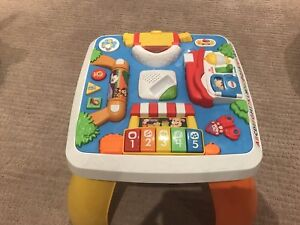 Fisher Price Laugh and Learn Around the Town learning table.