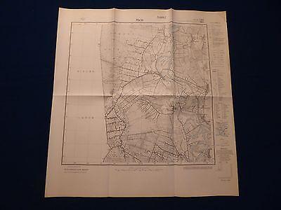 Landkarte Meßtischblatt 2909 Rhede in Hannover, Borsum, Herbrum, um 1945