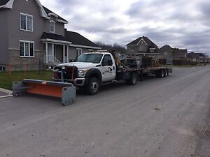 2016 Ford f-550 Diesel 6x6 avec pelle à neige transport pepine West Island Greater Montréal image 5
