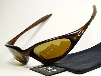 Oakley Minute Rootbeer Polarized Sonnenbrille Half Jacket Flak Gascan Straight X