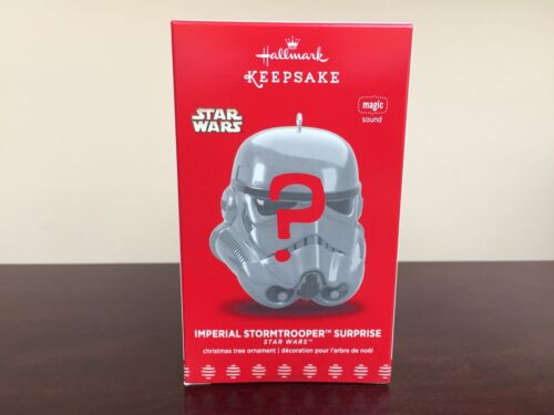 2017 Hallmark Ornament Imperial Stormtrooper Surprise Mystery Ornament SEALED