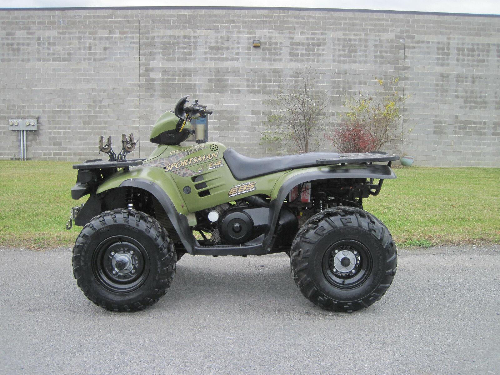 1999 POLARIS SPORTSMAN 500 HO 4X4 WINCH LOW MILES SHIPING XP ATV 500HO RARE