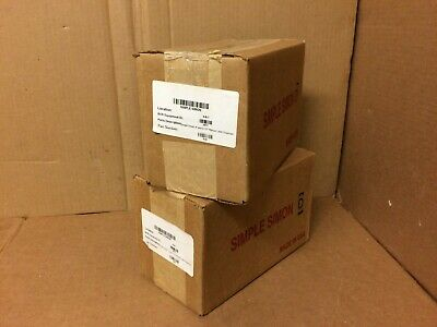 Lot Of 2 Simple Simon Manual Label Dispenser Dispensa-matic