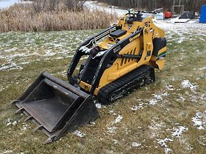 Mini excavator and track loader for hire  Excavation trenching Edmonton Edmonton Area image 5