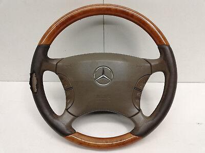 Mercedes W220 Lenkrad Airbaglenkrad mit Airbag   (13)