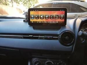 "Mazda******2019 CX3 - 2 10"" GPS BT Video Navigation USB Camera Re"
