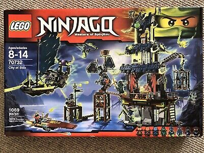 NEW LEGO Ninjago City Of Stiix 70732 RETIRED Temple Boat Ninjas Nya SEALED RARE