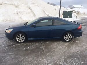 2003 Honda accord coupe ex-l v6 cuire