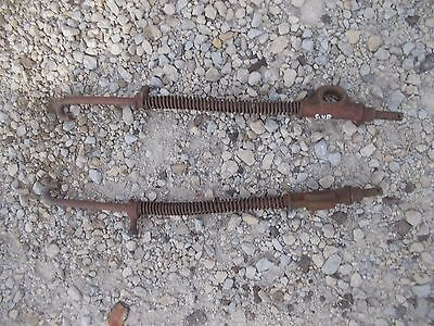 Farmall Ih Cub Tractor Cultivator Mounting Front Spring Springs Brackets