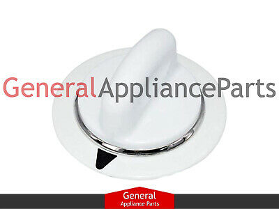 GE General Electric White Dryer Timer Knob WE1M654 AP3995088