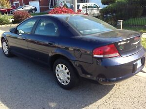 2004 Chrysler Sebring Lx 4dr Automatic