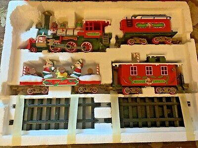 The Holiday Express New Bright Musical Christmas Music Train Set #0181