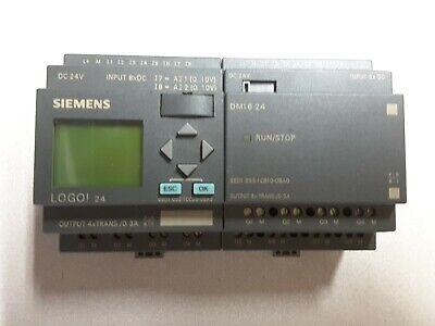 Siemens 6ed1 052-1cc00-0ba5 6ed1 055-1cb10-0ba0 Logo 24 Plc Module