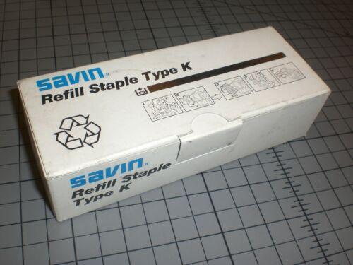 Refill Staple Cartridges Type K BY SAVIN