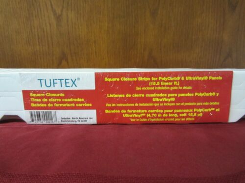 Tuftex 15-Pack Square Closure Strips For PolyCarb & UltraVinyl Panels 2216 3