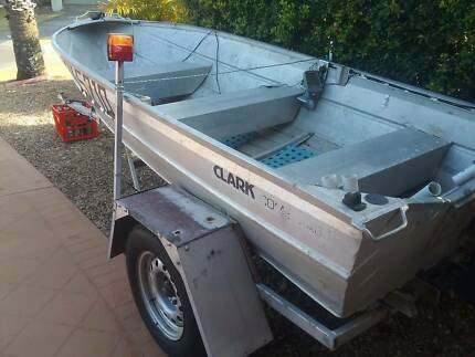 11FT ALUMINIUM DINFHY AND TRAILER