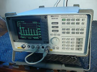 Hp Agilent 8593e Spectrum Analyzer W Tracking Generator 26.5 Ghz Pick Options