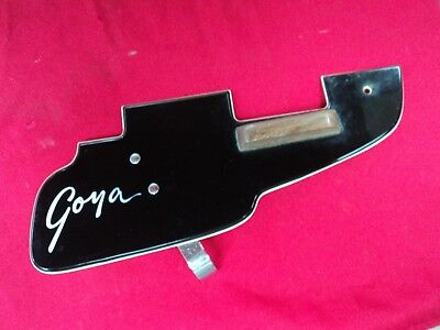 "VINTAGE GOYA ""RANGEMASTER"" BASS GUITAR PICKGUARD/FINGER REST-MADE IN ITALY"