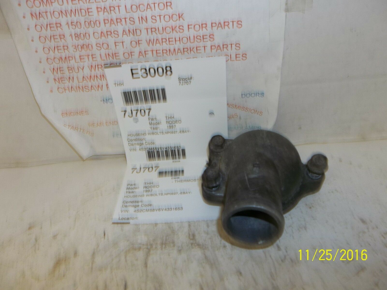 Used Isuzu Rodeo Thermostats & Parts for Sale