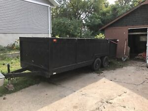 16 x6 foot double axle trailer