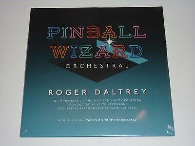 "ROGER DALTREY (THE WHO) - PINBALL WIZARD LTD BLUE VINYL 7"" SINGLE MINT/SEALED"