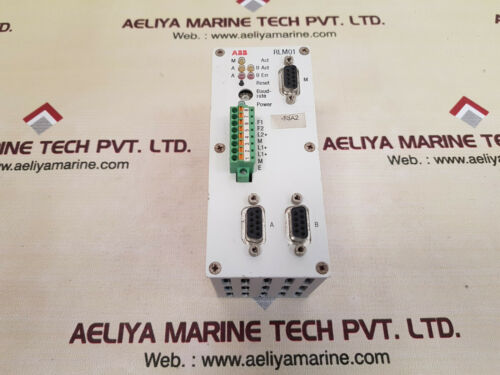 Abb rlm01 3bdz000399r1 redundancy link module