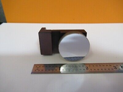 Olympus Japan Mounted Mirror Concave Optics Microscope Part As Pictured A5-a-35