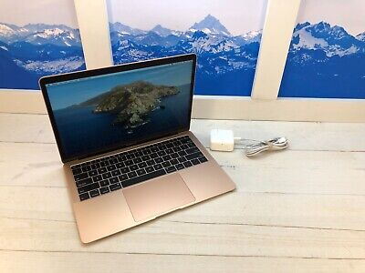 "Apple MacBook Air Touch ID 2019 13"" Laptop 128GB 8GB RAM Gold Warranty"