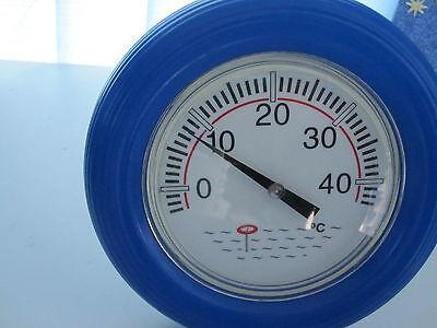 Pool Thermometer,Thermometer,Rundthermometer blau