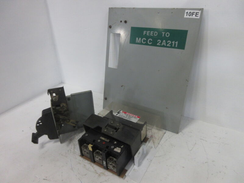 GE 8000 Series 250 Amp Main Breaker Type MCC Feeder Bucket 250A General Electric