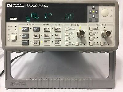 Hp 53131a Universal Frequency Countergreat Working Condition-30 Days Mback