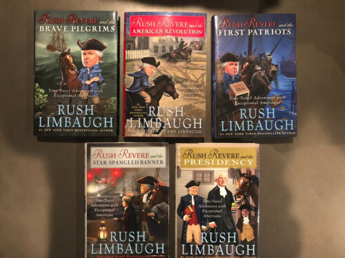 RUSH REVERE 5 Volume Complete Set Collection -  Rush Limbaugh - BRAND NEW