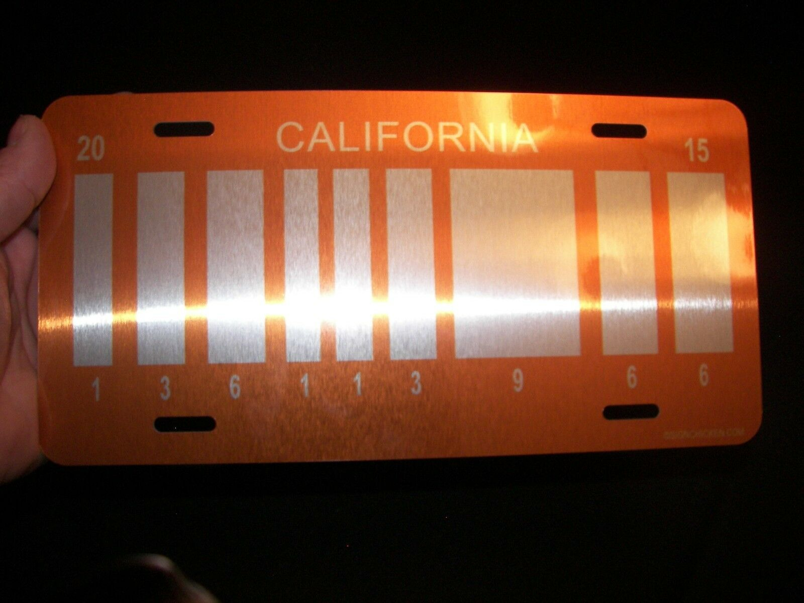 Back to the Future / Delorean / OUTATIME LICENSE PLATE ULTIMATE COLLECTORS SET