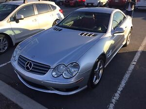 Mercedes sl500 cabriolet amg package
