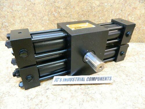 Parker  HTR7.5-1858C-DH63V-C  hydraulic rotary  actuator  185 deg  28 mm shaft