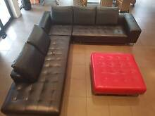 Leather Modular Sofa and Chaise plus Otterman Adelaide Region Preview