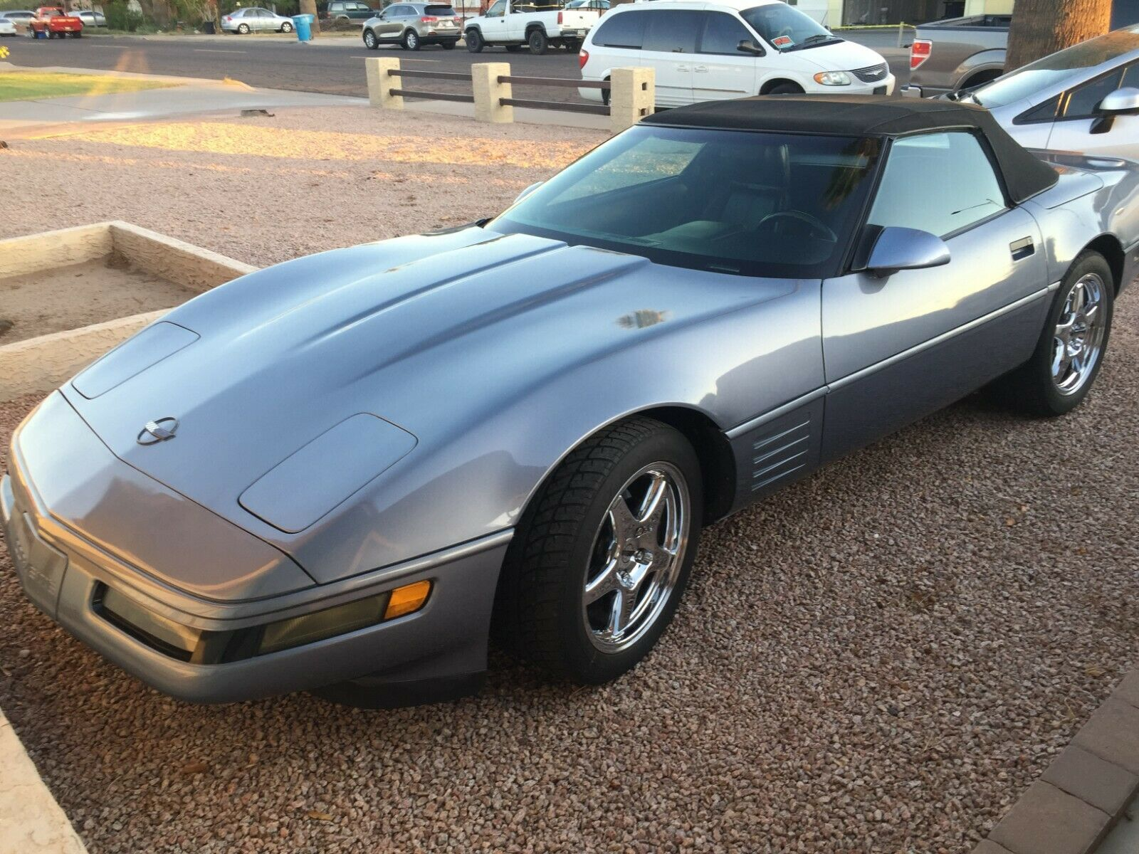 1991 Blue Chevrolet Corvette   | C4 Corvette Photo 1